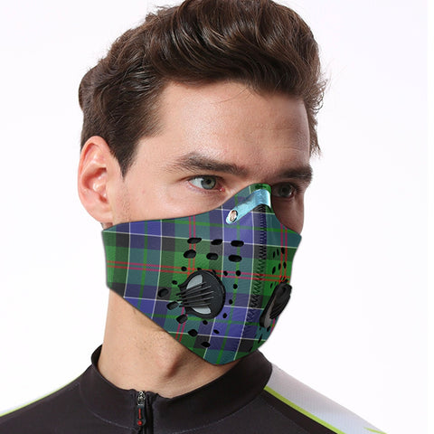 Paterson Tartan Dust-proof Sports Masks ( Model 1) - TH88 (USA Shipping Line)