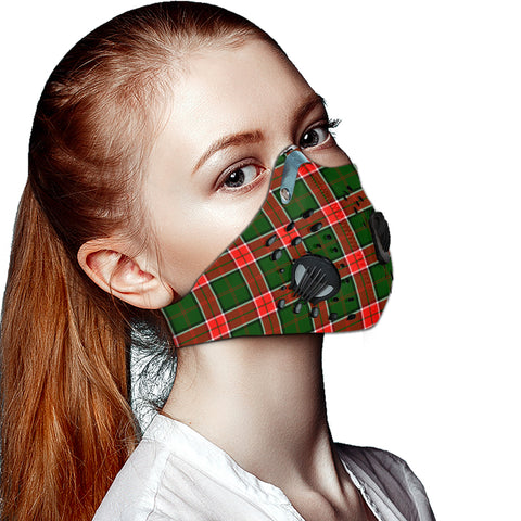 Pollock Modern Tartan Dust-proof Sports Masks ( Model 1) - TH88 (USA Shipping Line)
