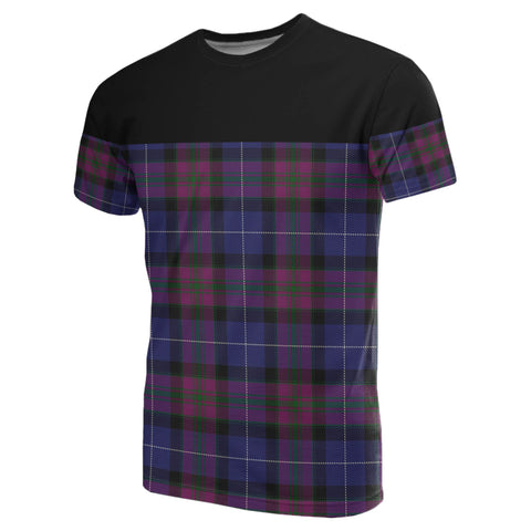 Tartan Horizontal T-Shirt - Pride Of Scotland