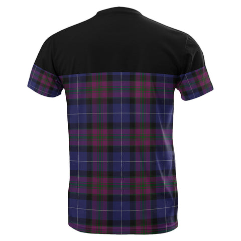Tartan Horizontal T-Shirt - Pride Of Scotland - BN