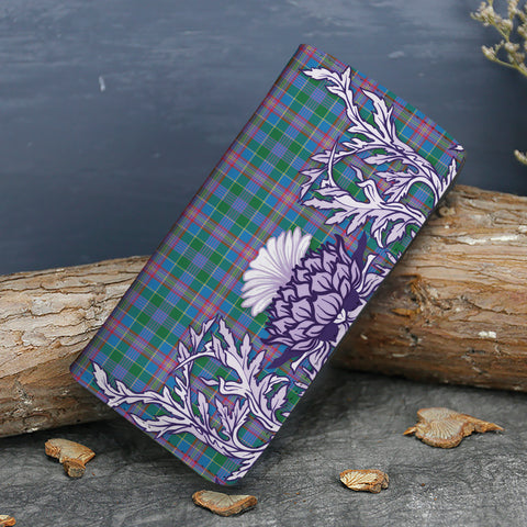 Image of Ralston Tartan Wallet Women's Leather Thistle A91