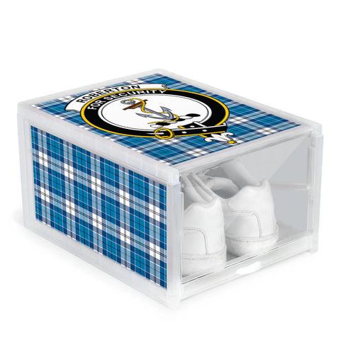 Roberton Clan Crest Tartan Scottish Shoe Organizers