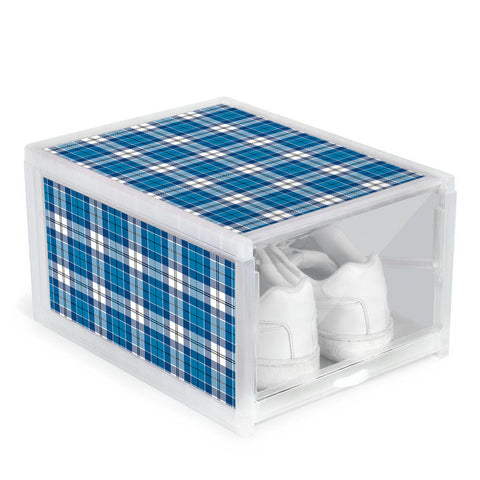 Roberton Clan Tartan Scottish Shoe Organizers