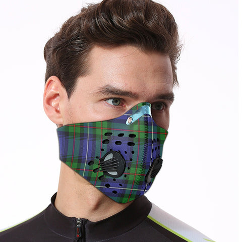 Robertson Hunting Modern Tartan Dust-proof Sports Masks ( Model 1) - TH88 (USA Shipping Line)