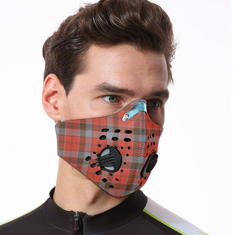 Robertson Weathered Tartan Dust-proof Sports Masks ( Model 1) - TH88 (USA Shipping Line)
