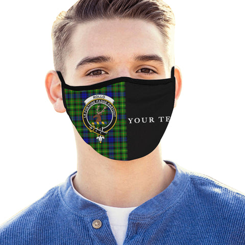 Image of Rollo Modern Tartan Mouth Mask The Half (Custom) Th88