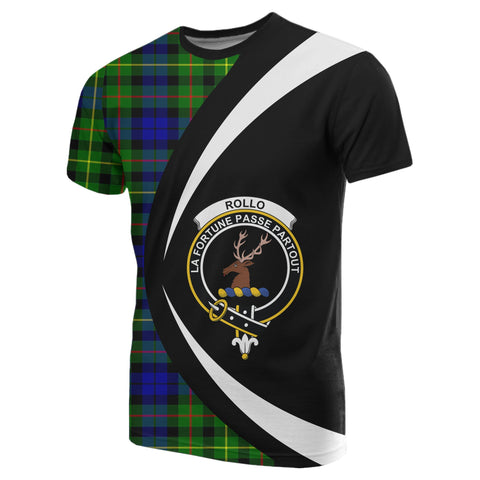 Image of Rollo Modern Tartan T-shirt Circle