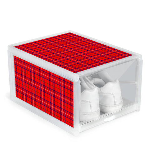 Rose Modern Clan Tartan Scottish Shoe Organizers