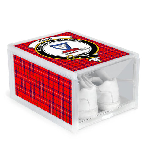 Rose Modern Clan Crest Tartan Scottish Shoe Organizers