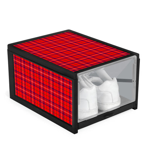 Rose Modern Clan Tartan Scottish Shoe Organizers K9