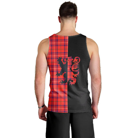 Rose Modern Clan Tank Top Lion Rampant