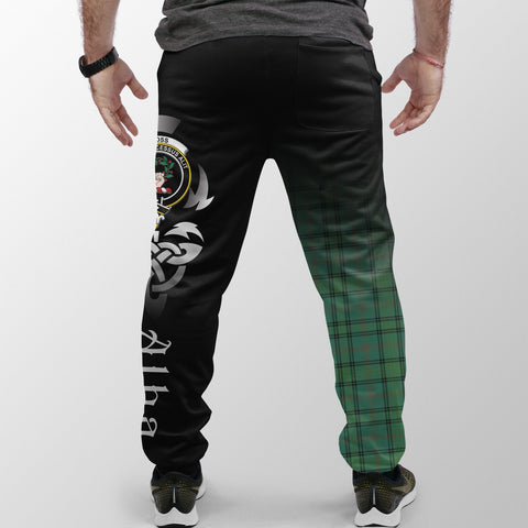 Image of Ross Hunting Ancient Crest Tartan Alba Celtic Jogger A30