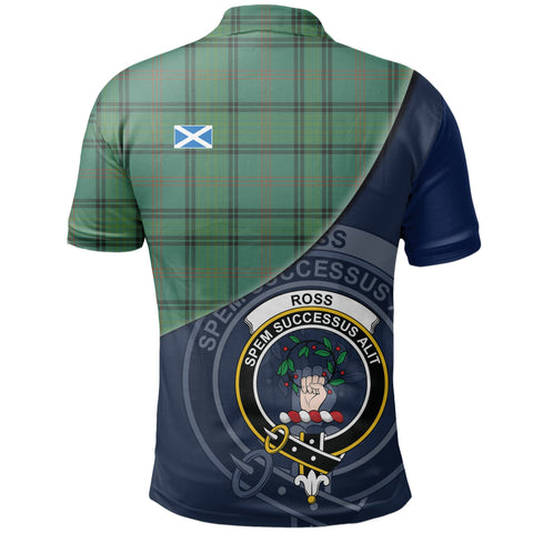Ross Hunting Ancient Polo Shirts Tartan Crest A30