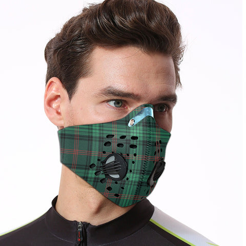Ross Hunting Modern Tartan Dust-proof Sports Masks ( Model 1) - TH88 (USA Shipping Line)