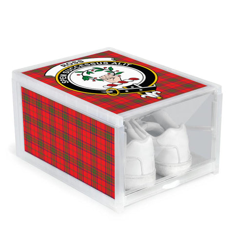 Ross Modern Clan Crest Tartan Scottish Shoe Organizers