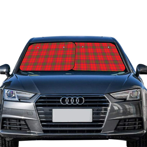 Ross Modern Clan Tartan Scotland Car Sun Shade 2pcs
