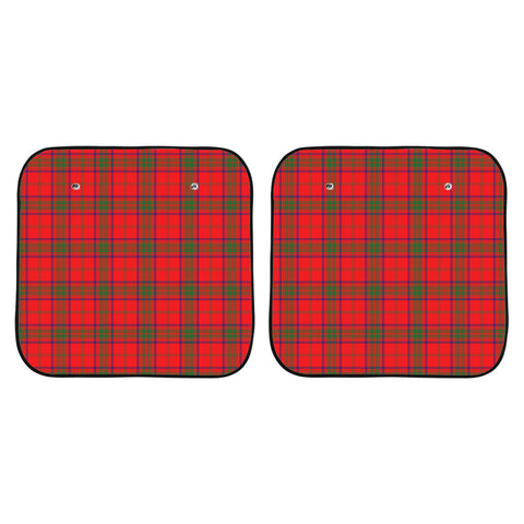 Ross Modern Clan Tartan Scotland Car Sun Shade 2pcs K7