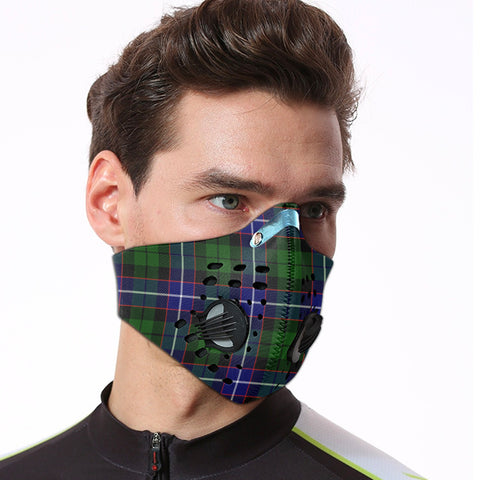 Russell Modern Tartan Dust-proof Sports Masks ( Model 1) - TH88 (USA Shipping Line)