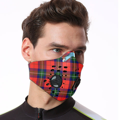 Ruthven Modern Tartan Dust-proof Sports Masks ( Model 1) - TH88