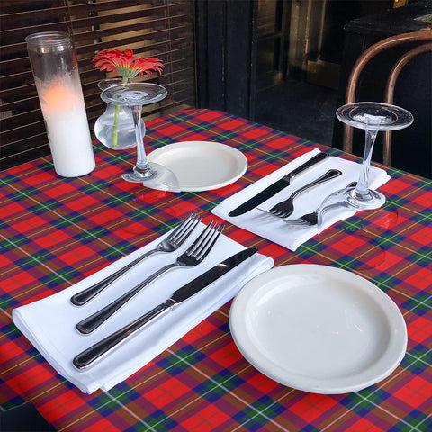 Ruthven Modern Tartan Tablecloth | Home Decor