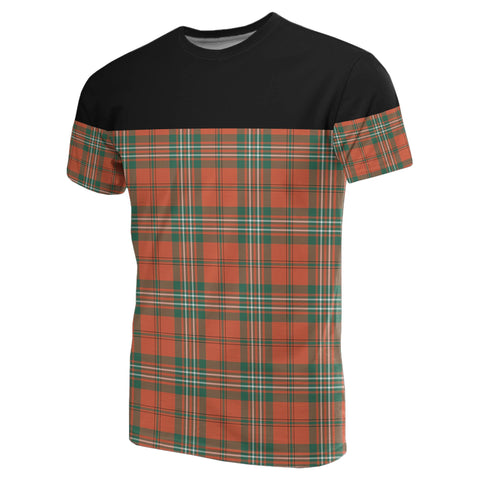 Tartan Horizontal T-Shirt - Scott Ancient