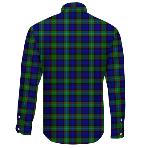 Sempill Modern Tartan Clan Long Sleeve Button Shirt A91