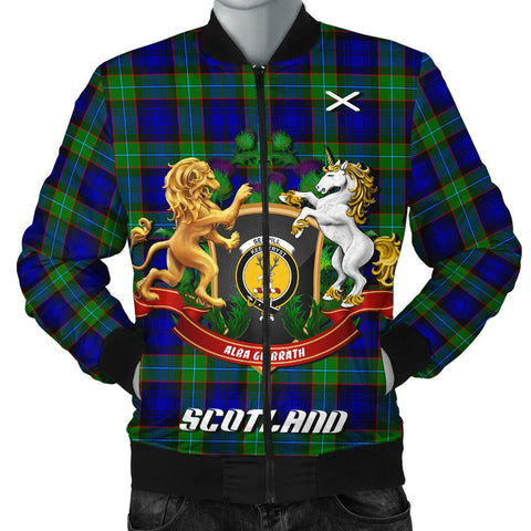 Sempill Modern | Tartan Bomber Jacket | Scottish Jacket | Scotland Clothing