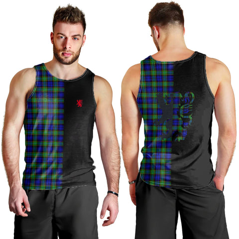 Image of Sempill Modern Clan Tank Top Lion Rampant