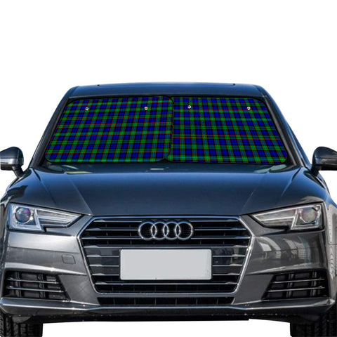 Sempill Modern Clan Tartan Scotland Car Sun Shade 2pcs