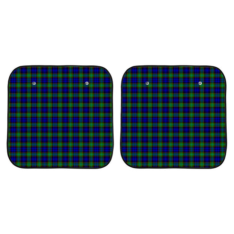 Sempill Modern Clan Tartan Scotland Car Sun Shade 2pcs K7