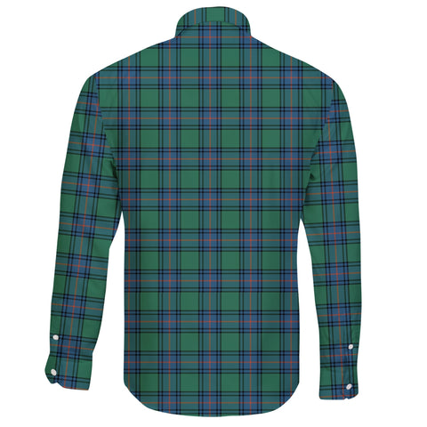 Shaw Ancient Tartan Clan Long Sleeve Button Shirt A91