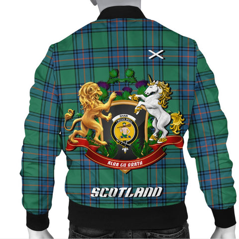 Shaw Ancient | Tartan Bomber Jacket | Scottish Jacket | Scotland Clothing