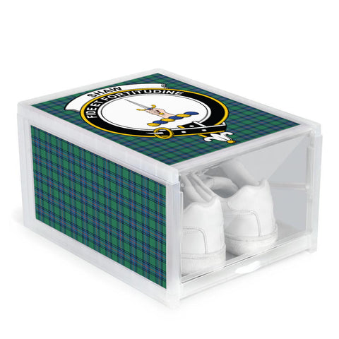 Shaw Ancient Clan Crest Tartan Scottish Shoe Organizers