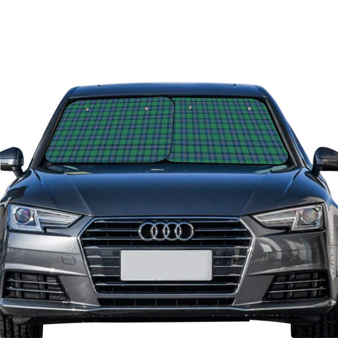 Shaw Ancient Clan Tartan Scotland Car Sun Shade 2pcs