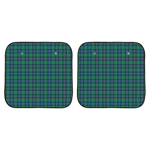 Shaw Ancient Clan Tartan Scotland Car Sun Shade 2pcs K7