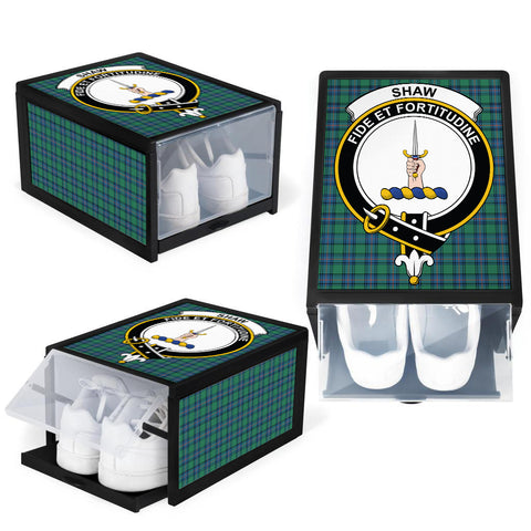Shaw Ancient Clan Crest Tartan Scottish Shoe Organizers K9