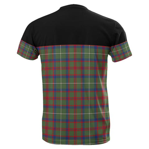 Image of Tartan Horizontal T-Shirt - Shaw Green Modern - BN