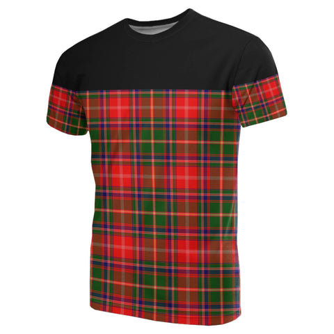 Image of Tartan Horizontal T-Shirt - Somerville Modern