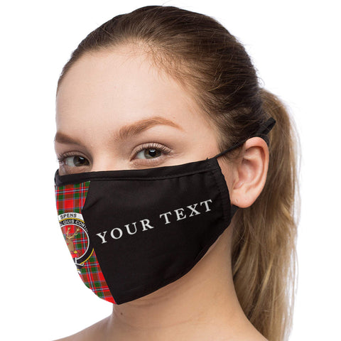 Tartan Mouth Mask