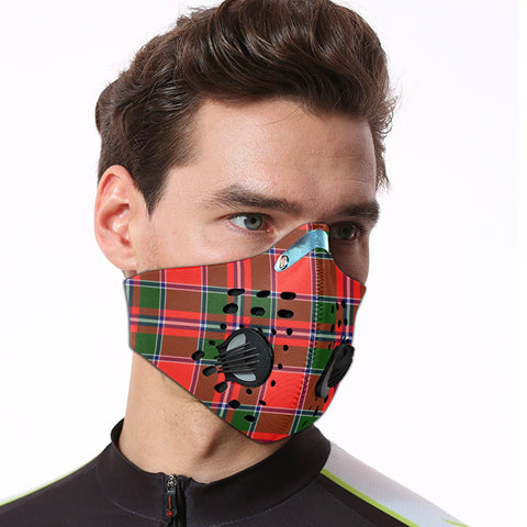 Spens Modern Tartan Dust-proof Sports Masks ( Model 1) - TH88