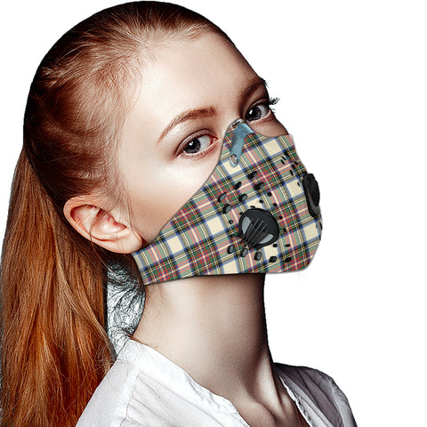Image of Stewart Dress Ancient Tartan Dust-proof Sports Masks ( Model 1) - TH88 (USA Shipping Line)