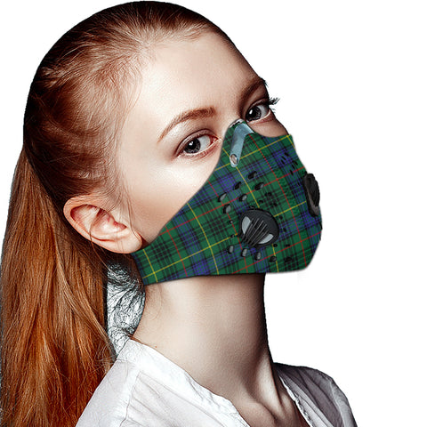 Stewart Hunting Modern Tartan Dust-proof Sports Masks ( Model 1) - TH88 (USA Shipping Line)