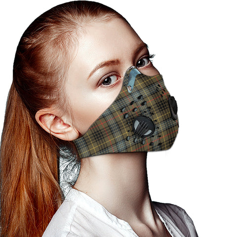 Stewart Hunting Weathered Tartan Dust-proof Sports Masks ( Model 1) - TH88 (USA Shipping Line)