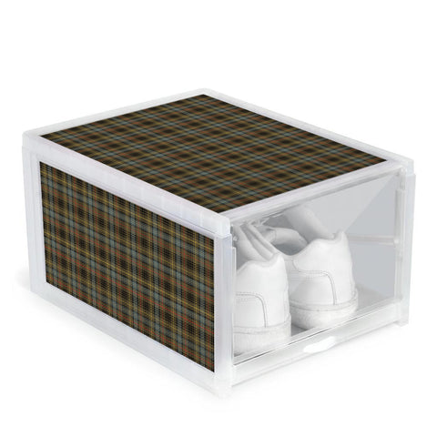 Stewart Hunting Weathered Clan Tartan Scottish Shoe Organizers