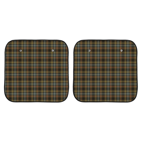 Stewart Hunting Weathered Clan Tartan Scotland Car Sun Shade 2pcs K7