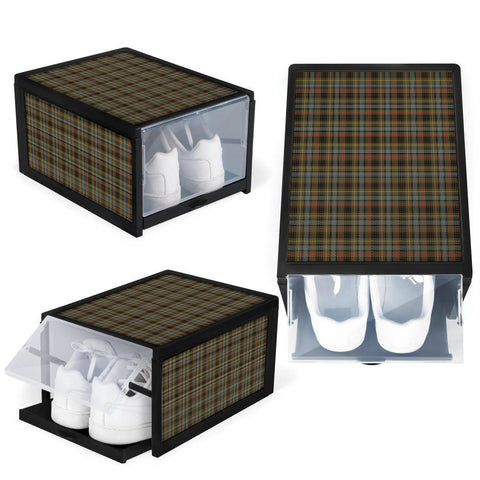 Stewart Hunting Weathered Clan Tartan Scottish Shoe Organizers K9