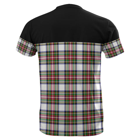 Tartan Horizontal T-Shirt - Stewart Dress Modern - BN
