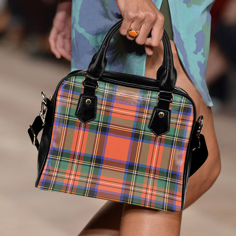 Stewart Royal Ancient Tartan Shoulder Handbag for Women | Hot Sale | Scottish Clans