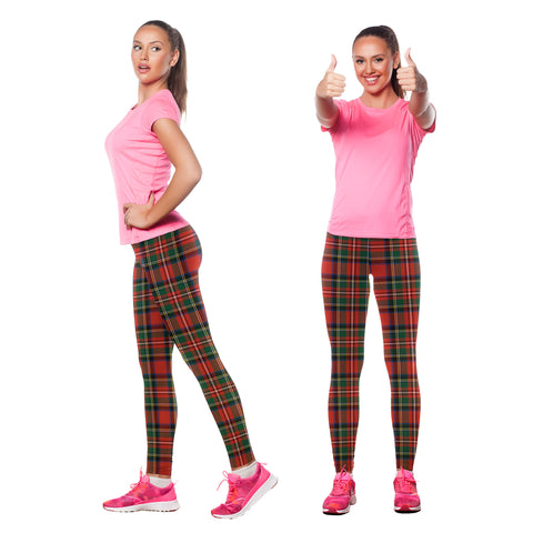 Stewart Royal Modern Tartan Leggings | Scottishclans.co