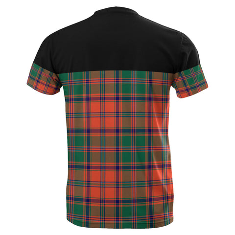 Tartan Horizontal T-Shirt - Stewart Of Appin Ancient - BN